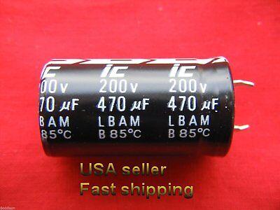 105℃ Radial 8 x 11mm US Stock 50pcs Electrolytic Capacitors 330uF 330mfd 25V