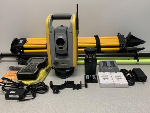"""Trimble S6 Robotic PKG (3"""") for land survey, Used"""
