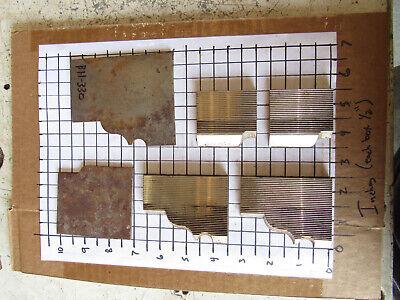 4 Moulder Blades Bits Knives 516 Corrugated Back Shaper Router Profile