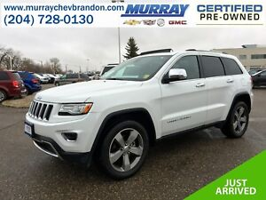 2015 Jeep Grand Cherokee Limited 4WD *Nav* *Backup Cam* *Heat/Co