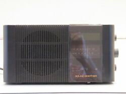 Vintage Sharper Image Sound Soother Model SM240b AM/FM Clock Radio Alarm AS-IS