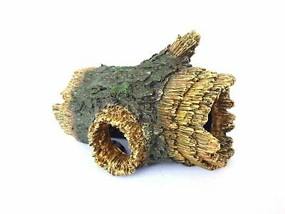 Hollow Log, Tree Root design Aquarium Ornament, Fish Tank or Vivarium Decoration