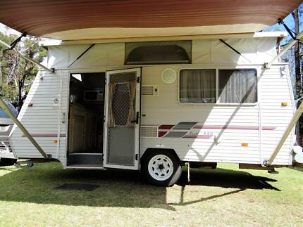 COROMAL Excel 445 Pop Top Caravan, 2001, Annex & Extras Yarloop Harvey Area Preview
