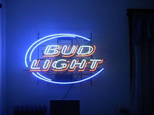 """Bud Light Red Neon Light Sign 17""""x14"""" Beer Gift Lamp Bar Art"""