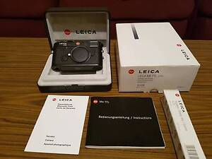 LEICA M6 TTL .85   NEW CONDITION !! RARE to find black beauty Brighton-le-sands Rockdale Area Preview