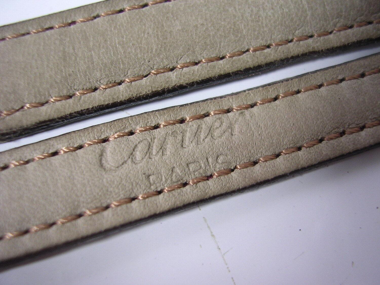 Bracelet cuir cartier pour montre 11 mm stock ancien