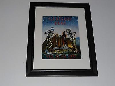 Framed Grateful Dead NYC 1980 Halloween Poster, 14