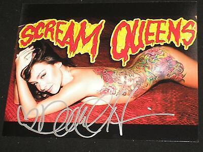DANIELLE HARRIS Signed 8x10 Photo Autograph SEXY Halloween Scream Queen B - Danielle Harris Halloween