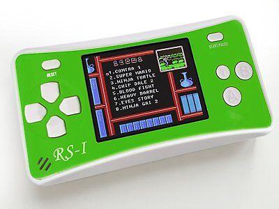 Retro Gaming Console 8 Bit Gaming Computer LCD Screen Game Box Cartridge Classic