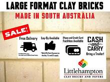 SALE! LARGE-FORMAT Clay Bricks - SA MADE - Many Colours Available Adelaide CBD Adelaide City Preview