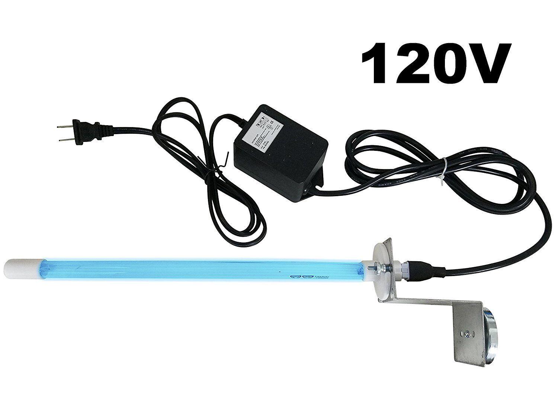 "Pure Uv Light AIR Purifier for Ac HVAC Coil 120v Plug-in 14"""