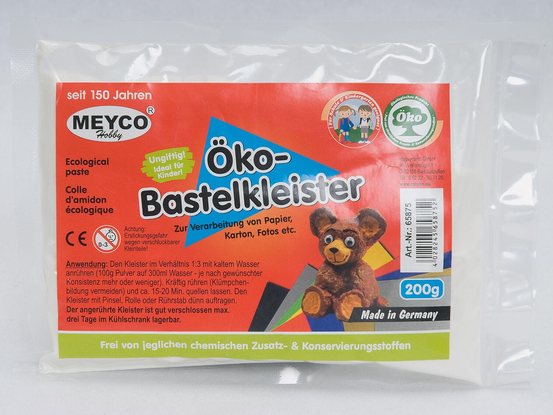 (2,99 €/100g) 1 x 200g ÖKO Bastelkleister / Bastelkleber ♥
