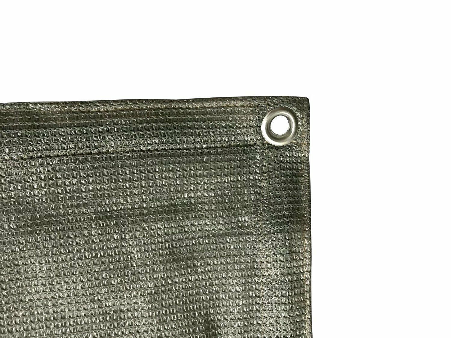 90 percent sun shade cloth with grommets