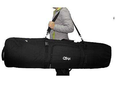 Snowboard bag Wheelie SKI padded  board ,boots ,gear travel bag  backpack NEW Ski Snowboard Travel Bags