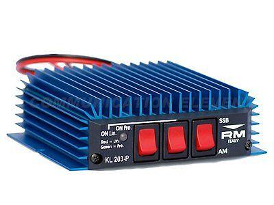 RM KL203P 20-30MHz 100/200w Linear Amplifier Burner + PreAmp AM FM SSB CW CB HF
