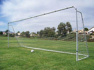 "24x8 Ft. Official MLS/FIFA Regulation Size Soccer Goal. 2"" Steel Frame(1Net)"