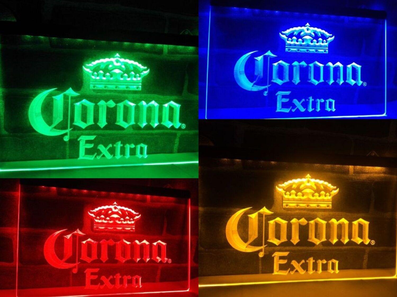 Neon Light Led Corona Extra Beer Sign Bar Club Pub Home Deco