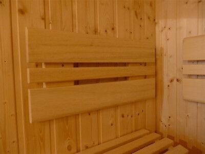 Saunahocker Saunabank Saunaliege Saunatreppe Holzliege Saunaaufstieg Holzbank
