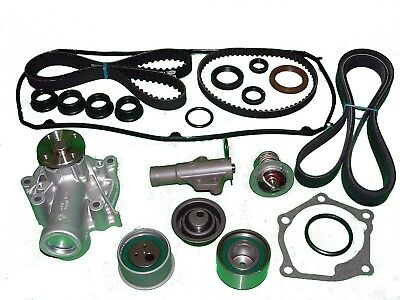 Timing Belt Kit Mitsubishi Lancer Ralliart 2004-2006 Water pump, tensioner seal  Balance Shaft Oil Seal