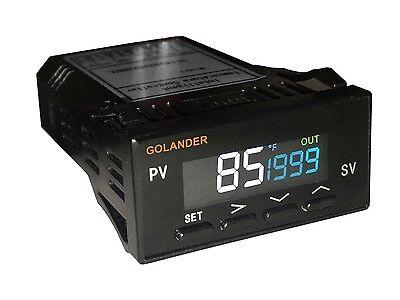 Lcd Dual Display 132din Digital Fc Pid Temperature Controller