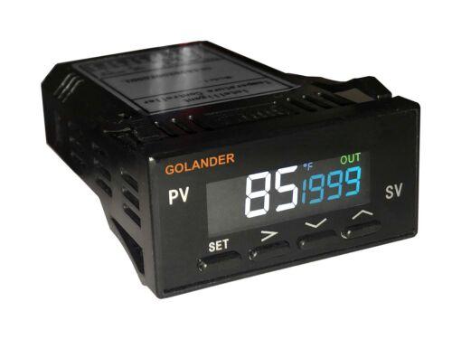 LCD Dual Display 1/32DIN Digital  F/C PID Temperature Controller