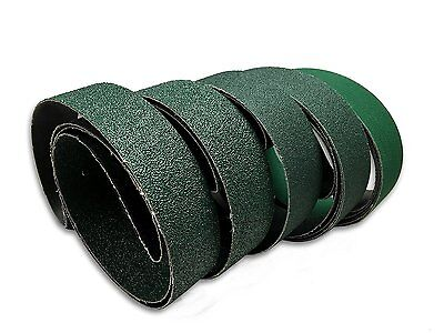 "2"" X 72"" KNIFE MAKERS COURSE GRIT SANDING BELTS, 6 PACK ASSORTMENT"