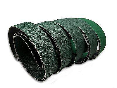 2 X 72 Knife Makers Course Grit Sanding Belts 6 Pack Assortment