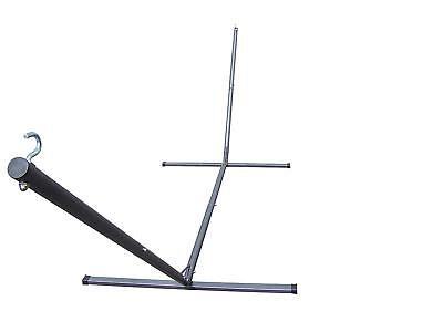 Petra's 15' Steel Hammock Stand, 300lbs Weight Capacity, 2 Steel Chains -