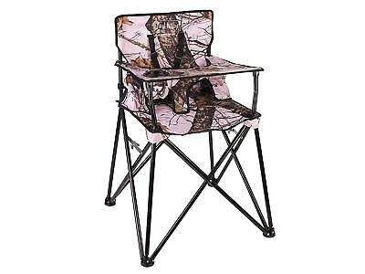 Ciao! baby Portable High Chair, Pink - Camo High Chair