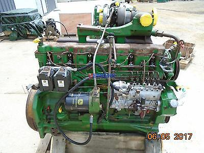 John Deere 404t Early Oem Engine Complete Good Running A- Esn 6404th-01-50785