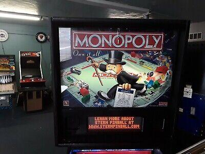 Monopoly Pinball Machine by Stern-FREE SHIPPING