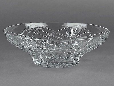 "RCR  Melodia 12"" Crystal Glass Centrepiece Fruit Bowl made in Italy --RRP £49.99"