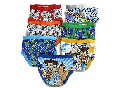 Disney Little Boys' Toy Story 7-Pack Briefs Size 2t-3t Toddler - Toy Story Toddler