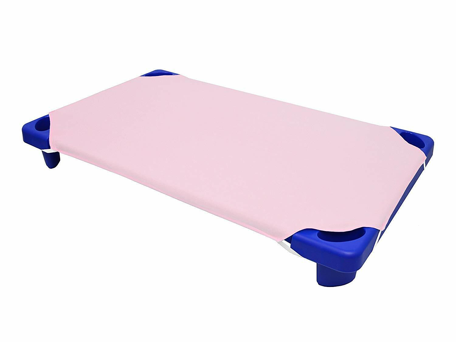 American Baby Company Cotton Percale Toddler Day Care Cot Sh