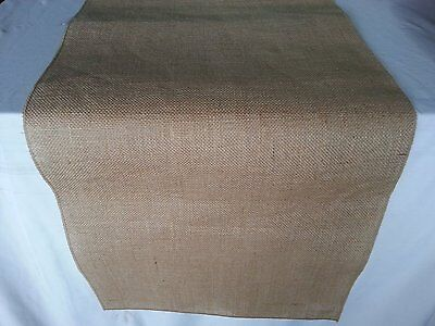 ArtOFabric Natural Burlap Table Runner 12 Inches ...