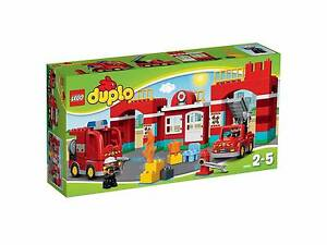 Lego Duplo Fire Station 10593 BRAND NEW IN BOX Seven Hills Blacktown Area Preview