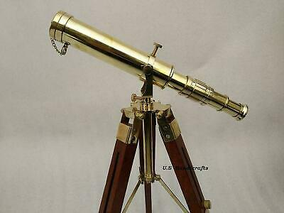 Vintage Ship Captain Telescopes Replica Handmade Gift Nautical Binocular Wa
