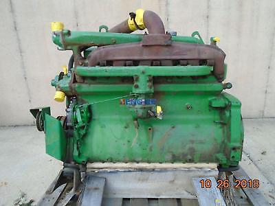 John Deere 6.303 Engine Complete Good Runner Esn 161052t Mdn M61hd