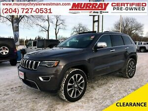 2018 Jeep Grand Cherokee Limited 4WD *Selec-Terrain* *Nav* *Back