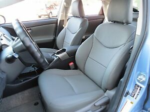 toyota prius 2010 15 oe factory replacement leather seat cover upholstery kit ebay. Black Bedroom Furniture Sets. Home Design Ideas