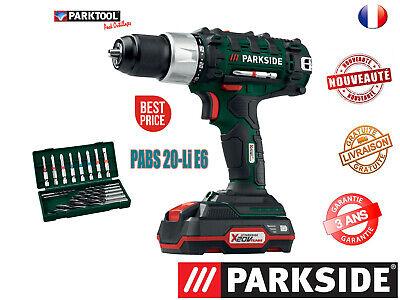 Parkside Taladro-Atornillador Inalámbrico Pabs 20-Li D5, Iluminación LED