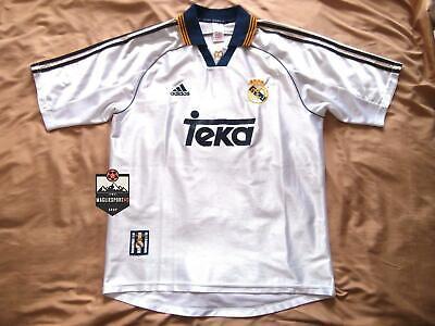 Maglia Real Madrid 1998-2000 - Calcio Retro Vintage Raul Zidane Ramos Jersey