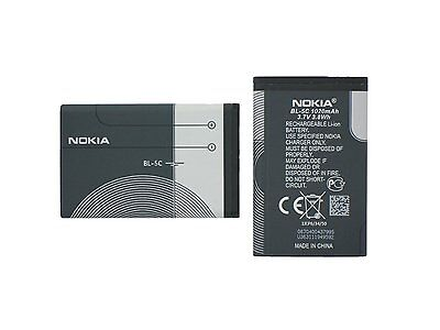 Nokia Akku BL-5C **NEU** Ersatzakku Smartphoneakku Smartphone Handyakku Handy