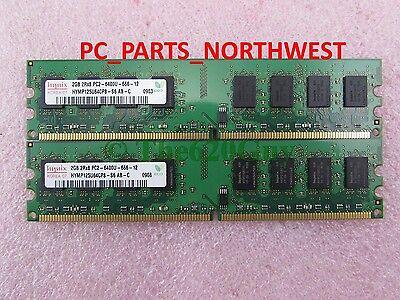 4GB DDR2 PC-6400 MEMORY RAM KIT FOR DELL OPTIPLEX 960 760 755 745 VOSTRO 200 400