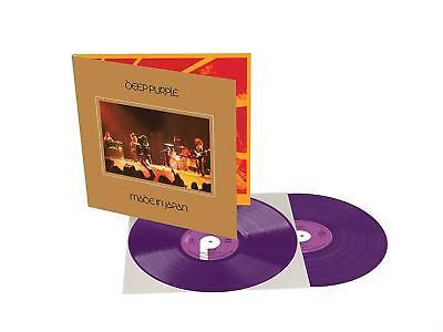 DEEP PURPLE 'MADE IN JAPAN' Ltd Purple Coloured Double VINYL LP (7th Sept. 2018)
