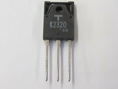30w 2 piece 2sk2350-Toshiba N channel power MOS-FET 200v 2pcs 8,5a
