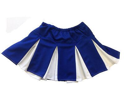 iert Cheerleader Rock Icebox Kühlbox Kostüm (Blaue Und Weiße Cheerleader-kostüm)