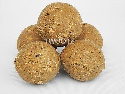 12.55kg Approx 150 Mealworm Suet Fat Balls Fatballs (No Net) for Wild Bird Food