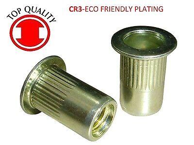 Lfk Steel Rivet Nut Rivnut Insert Nutsert - 14-20 Tsbs420 25 Pcs