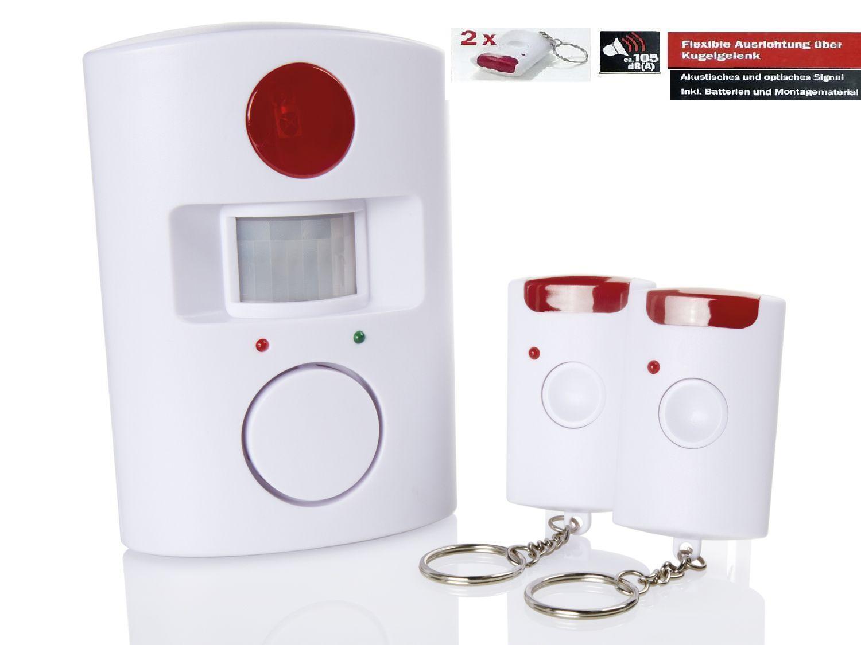 bewegungsmelder mit alarmfunktion haus melder bewegung alarm sirene sicherheit eur 17 49. Black Bedroom Furniture Sets. Home Design Ideas